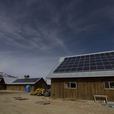 Rural Solar PV, Farm in Upper Bitterroot Valley, Western Montana