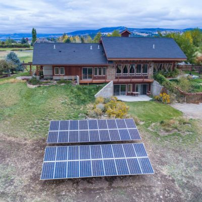 Solar Electric System Installed Hamilton MT