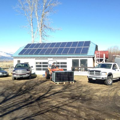 SBS Solar runns two Dodge trucks, a VW Passat and a Kubota fork lift all with Bio.