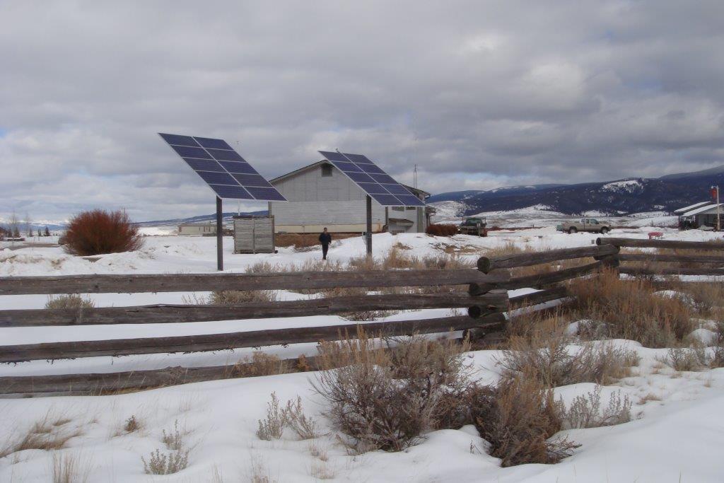 Solar Electric System Wisdom Montana