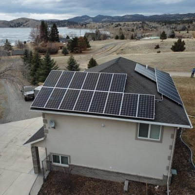 Canyon Ferry Solar Install