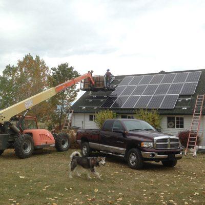 Solar Electric Installation Stevensville Montana