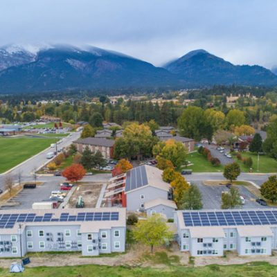 Valley Villas Solar Electric System Hamilton Montana