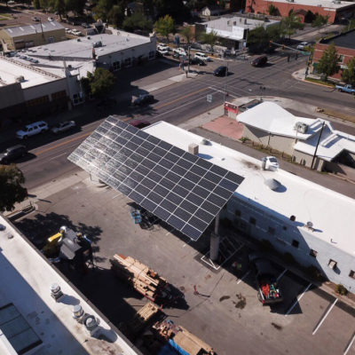 Hellgate High School Solar Electric Carport