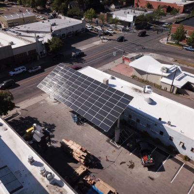 Hellgate High School Solar Electric Carport