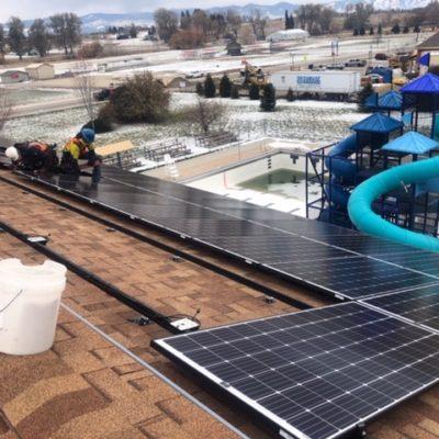Bitterroot Aquatics Solar Electr