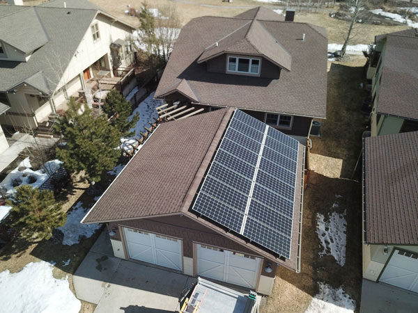 Solar Electric Roof Mount